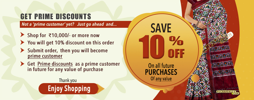 Get prime discounts