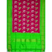 SD170 - Pochampally Ikat Silk Dupatta