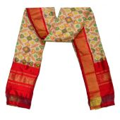 SD176 - Pochampally Ikat Silk Dupatta