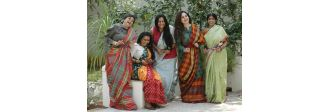 Up for wearing 100 saris in 365 days