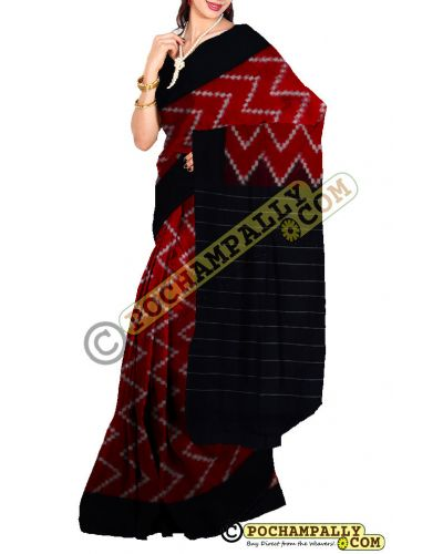 CS010 - Pochampally Ikat Cotton Saree