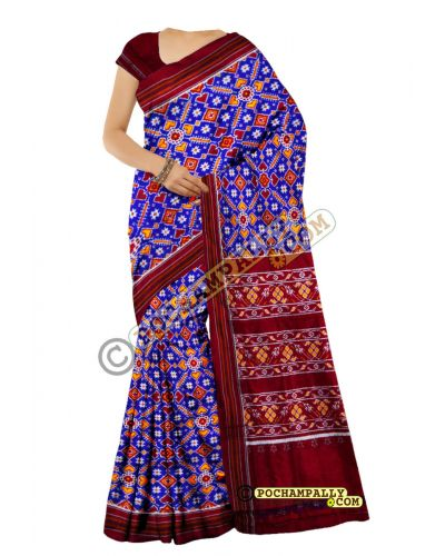 S0021 - Spunsilk Pochampally Saree