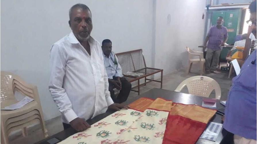 Pochampally saree to ivanka trump